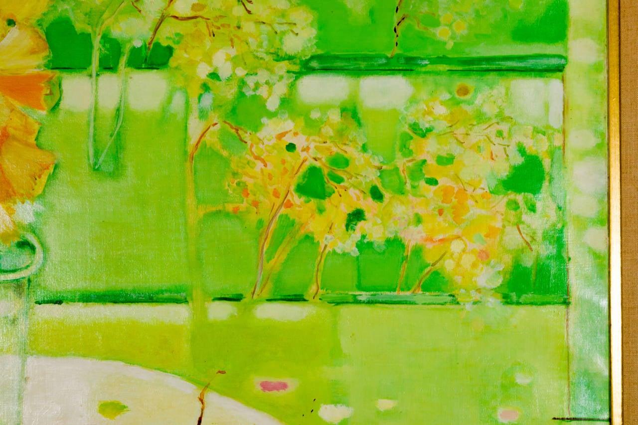 Mid-Century Modern Miguel Guzman Midcentury Oil Painting