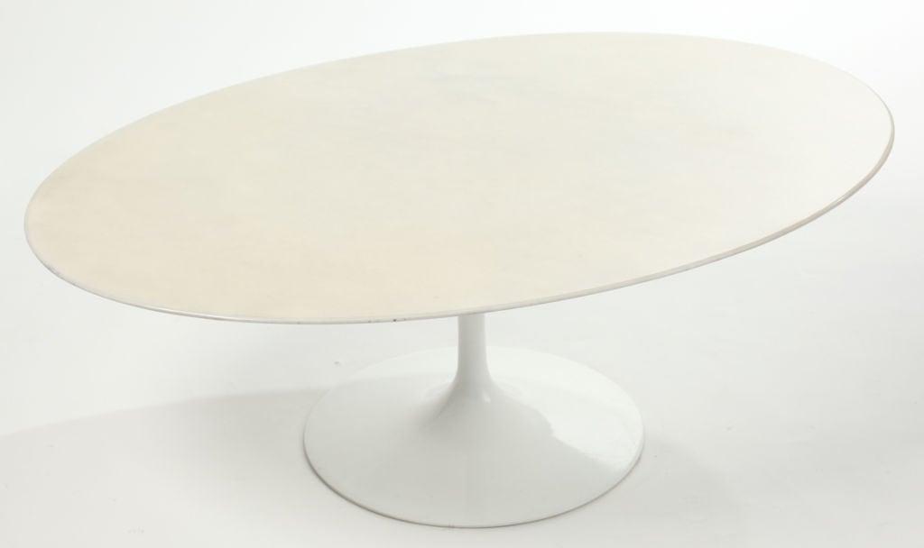 Eero Saarinen Marble Top Tulip Coffee Table At 1stdibs