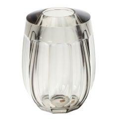 Moser Smoky Topaz Glass Vase