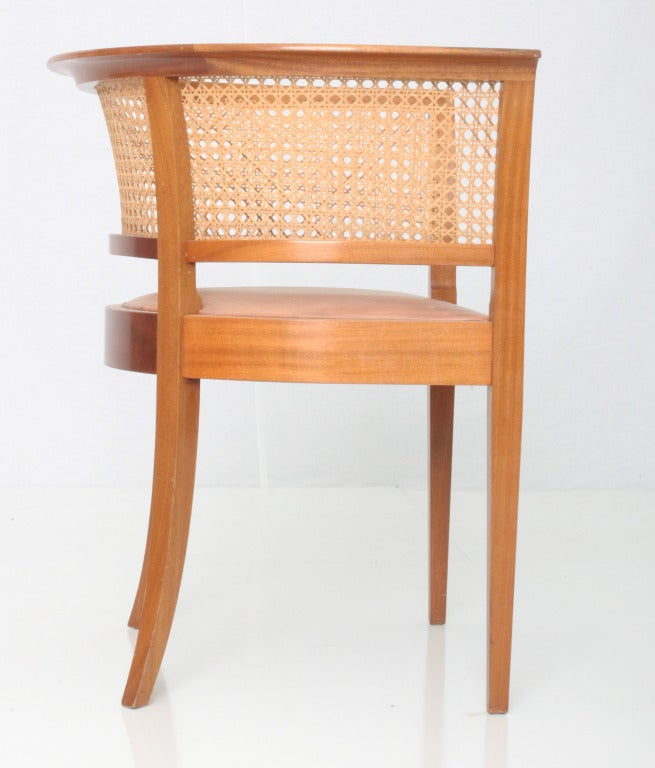Cane Kaare Klint Faaborg chair ( pair) For Sale