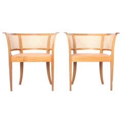 Kaare Klint Faaborg chair ( pair)