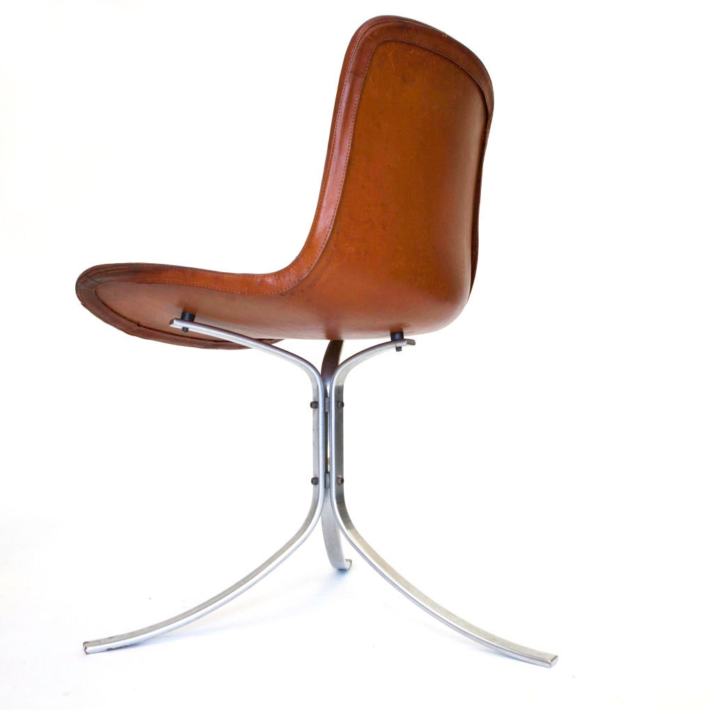 Danish PK-9 Chairs by Poul Kjaerholm For Sale