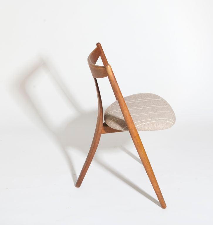"""""""Visbon"""" Chair, Pair of Three Legged Chairs 3"""