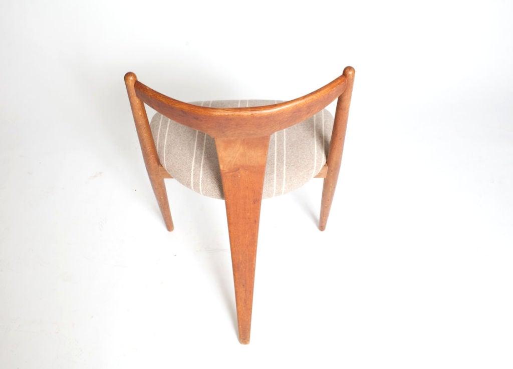 """""""Visbon"""" Chair, Pair of Three Legged Chairs 5"""