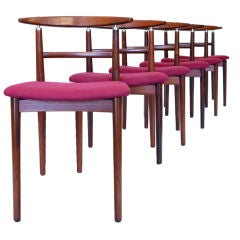 Quistgaard Design Mahogany Chairs by Sibast