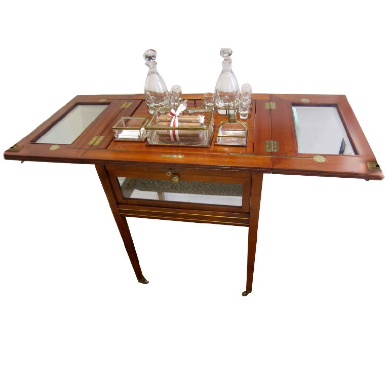 Liquor Cabinet Bar Side Table At 1stdibs