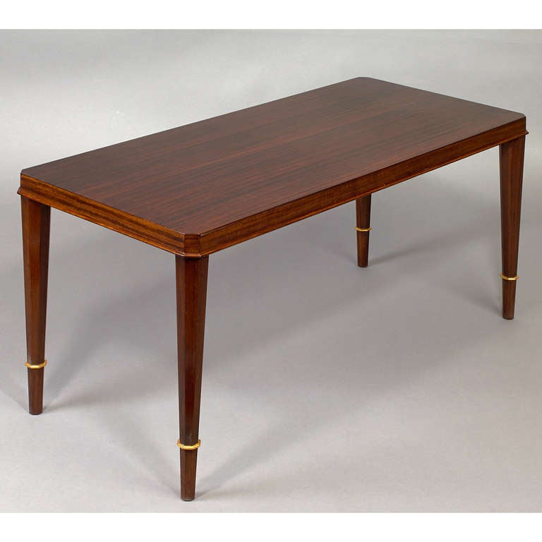 elegant coffee table by dominique at 1stdibs