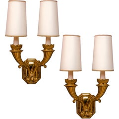 Magnificent Pair of Italian Neoclassical Sconces