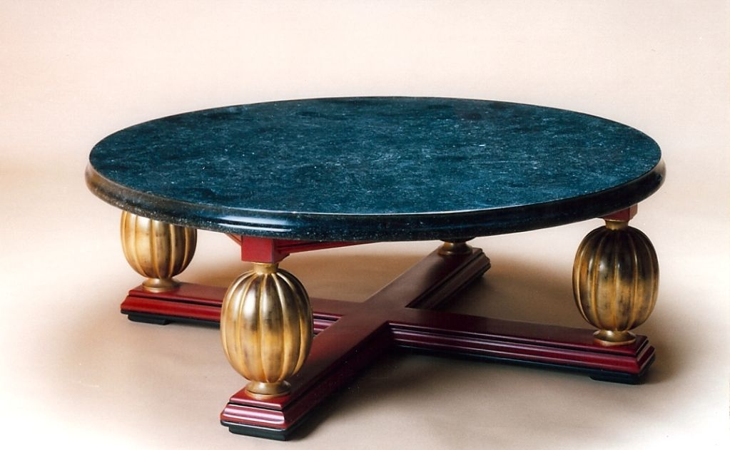 Magnificent Art Deco Coffee Table, France 1930s 2
