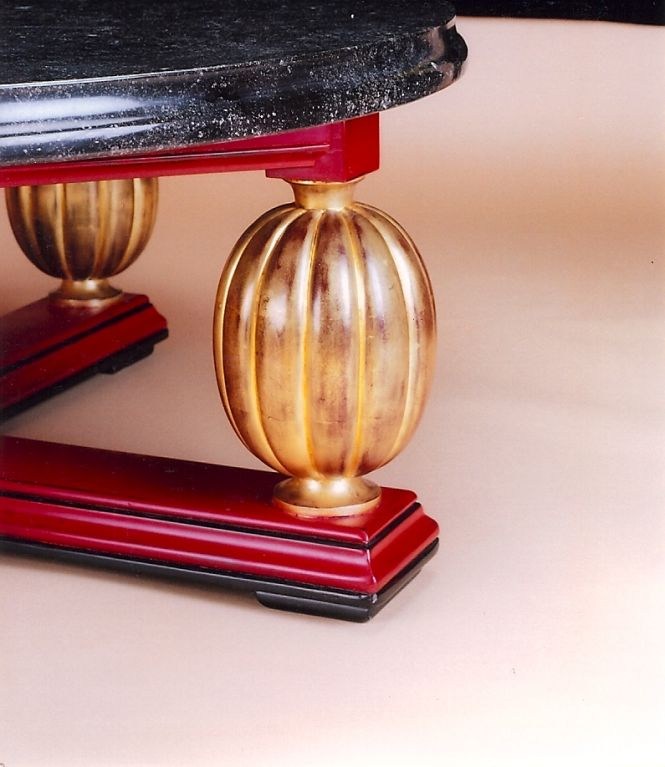 Magnificent Art Deco Coffee Table, France 1930s 3
