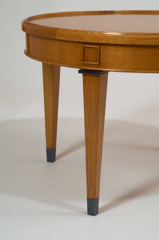 Light Wood Coffee Table France 1950s For Sale At 1stdibs