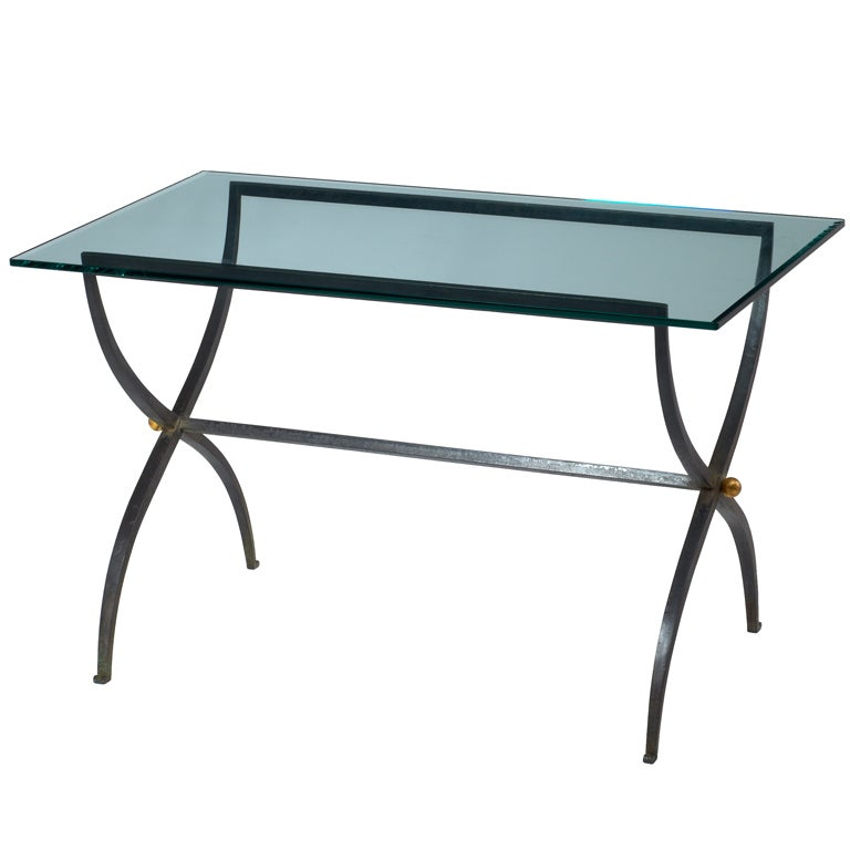 Remarkable Patinated Wrought Iron Coffee Table, France, 1950's 768 x 768 · 115 kB · jpeg