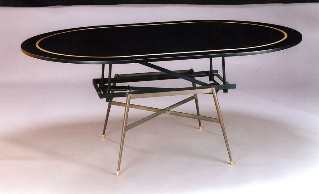 Coffee Table Converts Game Table Coffee Table Converts To Dining Table France 1950 39 S At 1stdibs