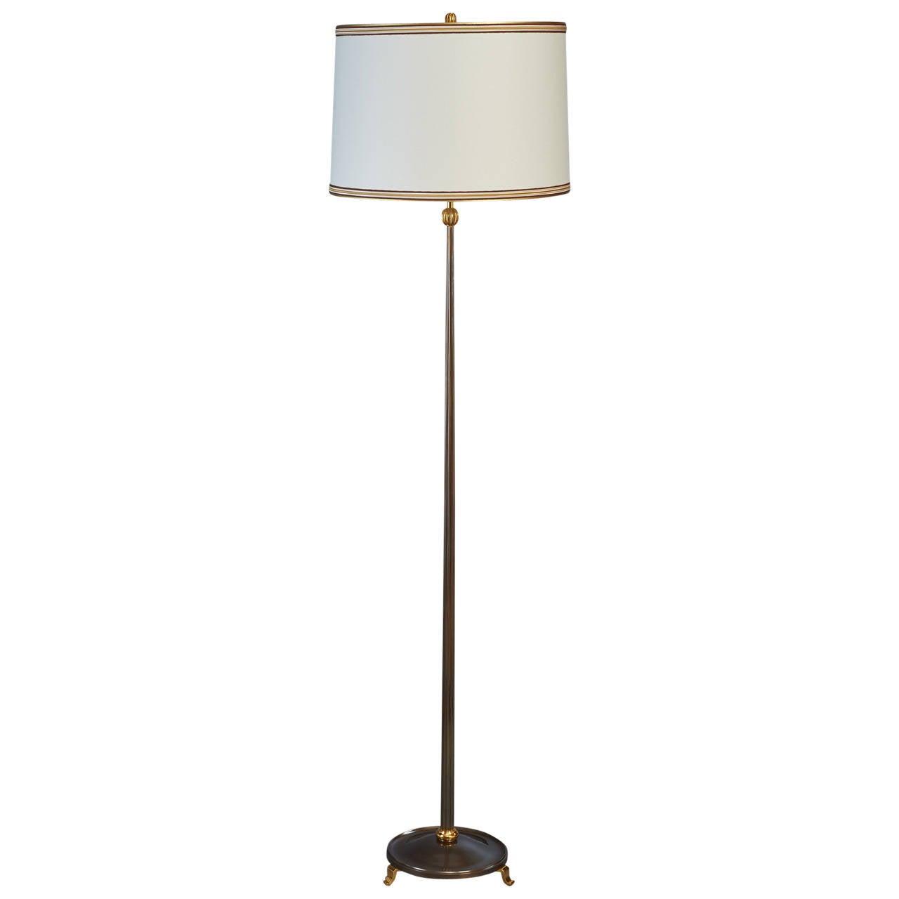 Bronze delisle 1950s floor lamp at 1stdibs for 1950s floor lamps