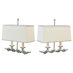 Pair of French 1950s Table Lamps