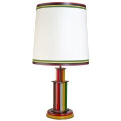 Extraordinary 1930s Italian Glass Lamp