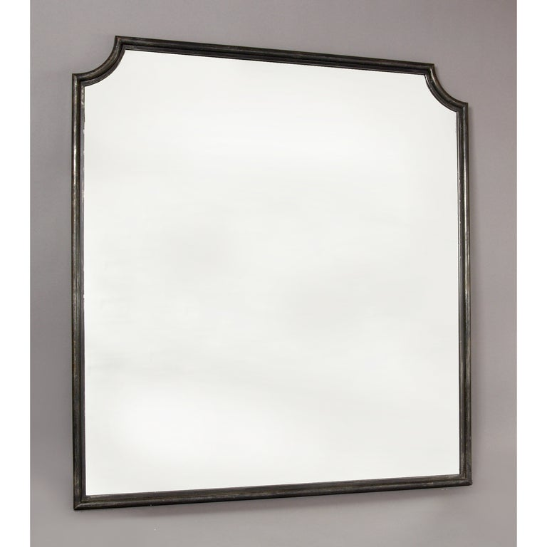 Magnificent wrought iron mirror by bataillard at 1stdibs for Wrought iron mirror