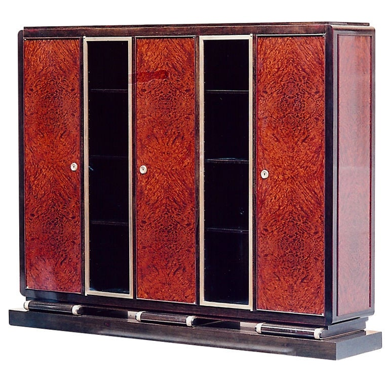 Exceptional French Cabinet by Christian Krass, circa 1930 For Sale