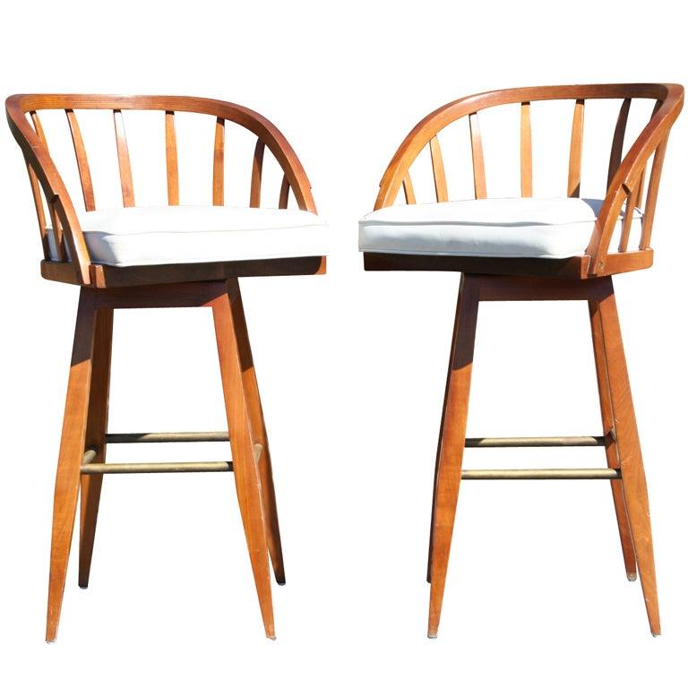 Barstools By Edward Wormley At 1stdibs