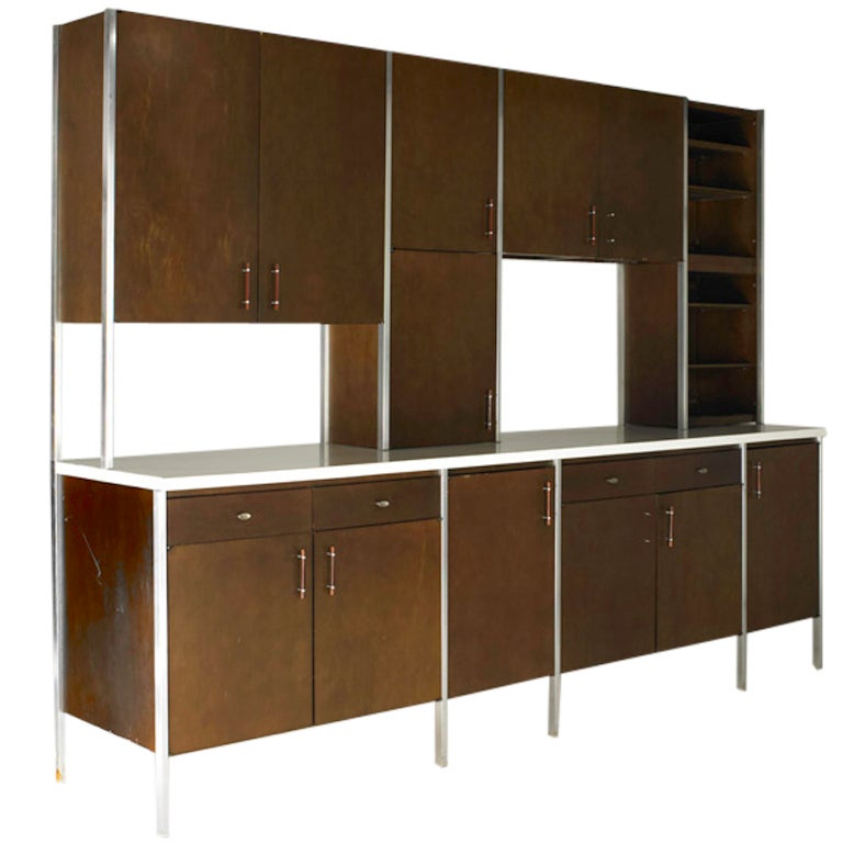 Kitchen Cabinets That Look Like Furniture: A Rare Series 700 Wall Unit By Paul McCobb At 1stdibs