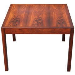 A Rosewood Occasional Table by Hans Wegner