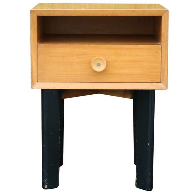 An Early Nightstand By George Nelson For Herman Miller At