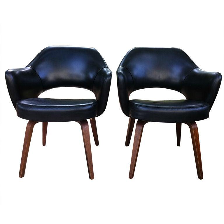 eero saarinen executive chairs for knoll at 1stdibs