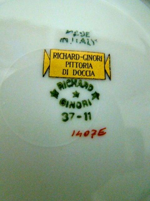 Gio Ponti Richard Ginori Il Circo Porcelain Tea Service