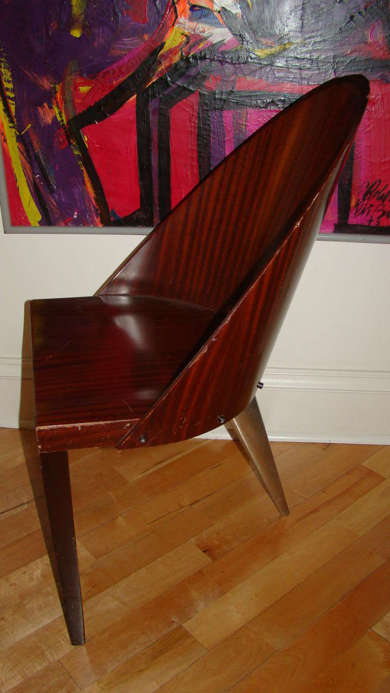Philippe Starck Royalton Hotel Sculptural Dining Chair At