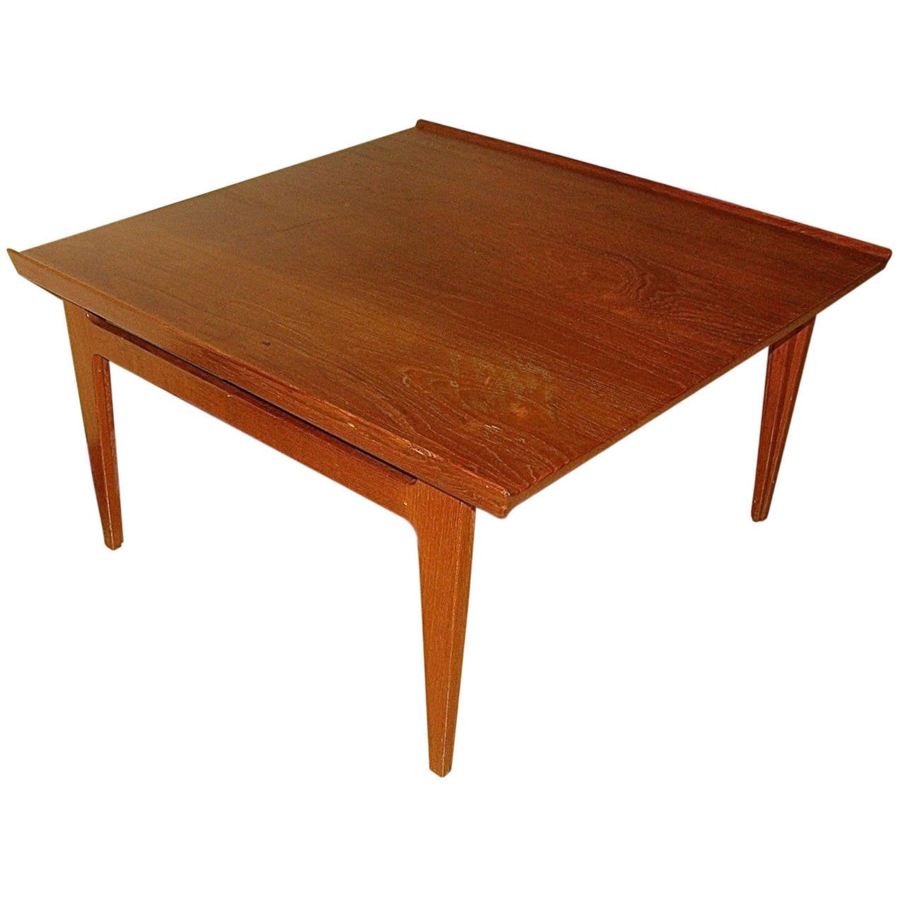 Finn juhl danish modern mid century coffee table at 1stdibs Mid century coffee tables