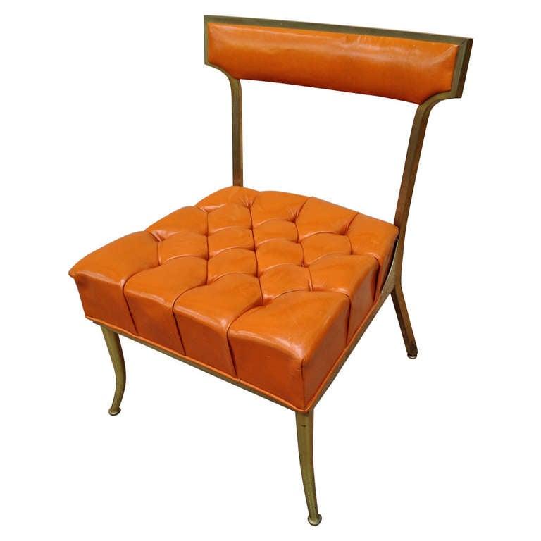 William quotBillyquot Haines Brass Klismos Slipper Chair at 1stdibs : 1126596l from 1stdibs.com size 768 x 768 jpeg 30kB