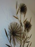 C Jere Brass Sea Urchin Sputnik Metal Wall Sculpture Tree image 6