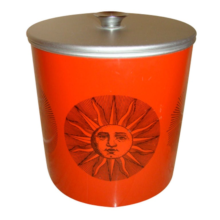 Piero Fornasetti Sun And Moon Ice Bucket At 1stdibs