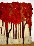 Ted Morris Textile Weave Wall Sculpture