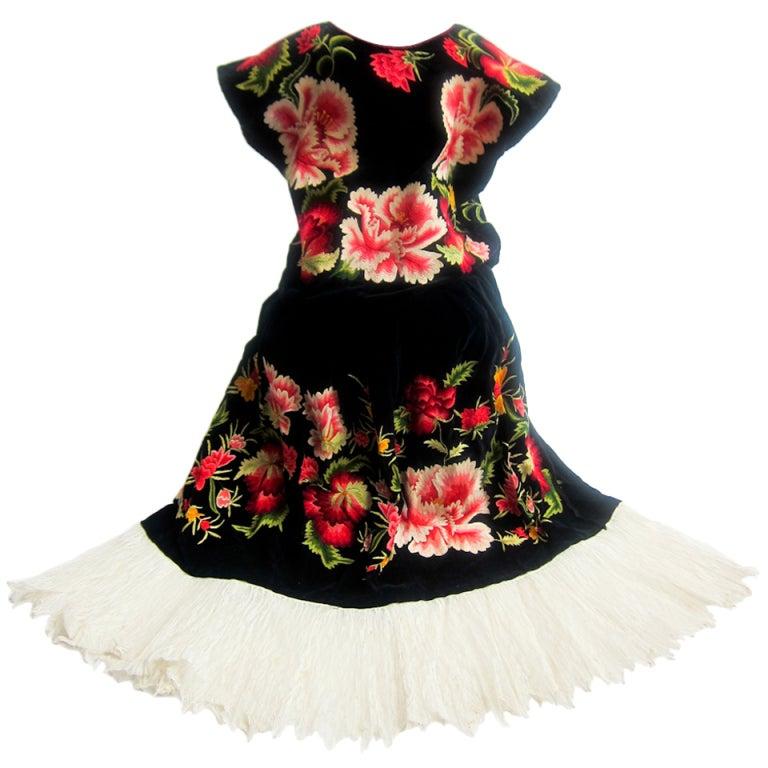 Tehuana Traditional Dress At 1stdibs