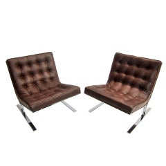 Pair Lounge Chairs - Nikos Zografos
