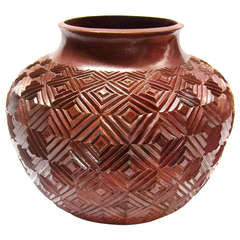 Copper Vessel by Maximo Velasquez Correa