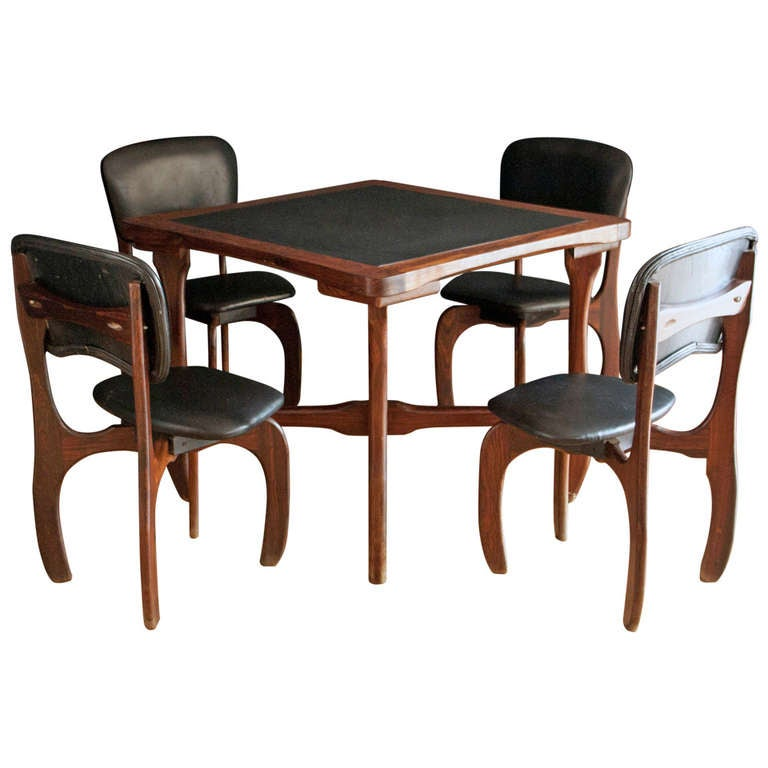 1016200 for Contemporary game table and chairs