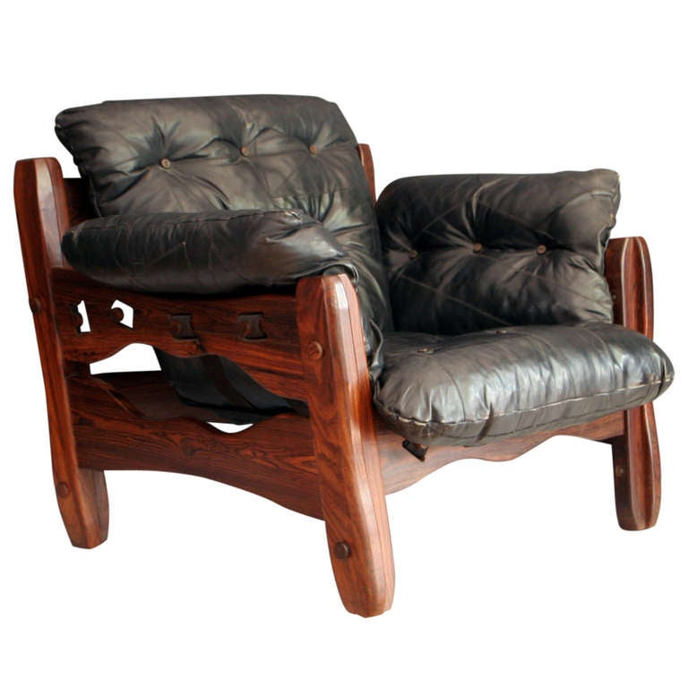 Descanso Armchair With Ottoman By Don Shoemaker At 1stdibs
