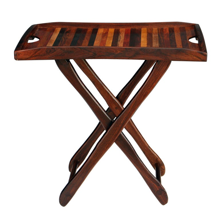 Tray Table by Don Shoemaker at 1stdibs : XXX913513364238791 from 1stdibs.com size 768 x 768 jpeg 55kB