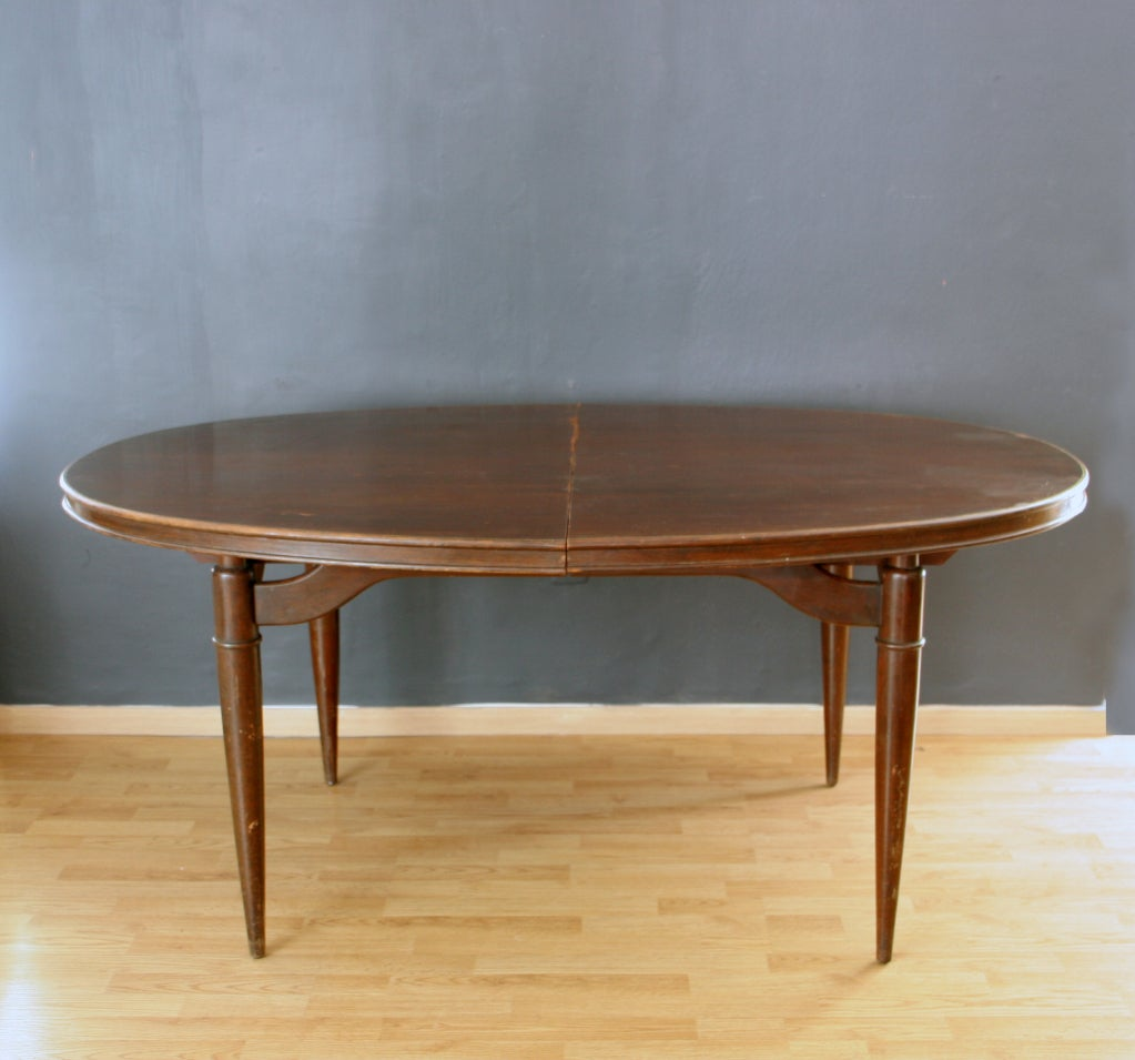 Frank Kyle Set Of Dining Table And Six Chairs At 1stdibs