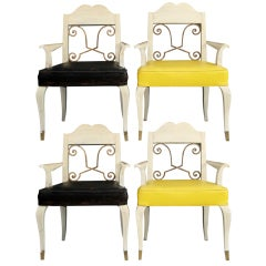 Set of four Arm Chairs by Arturo Pani