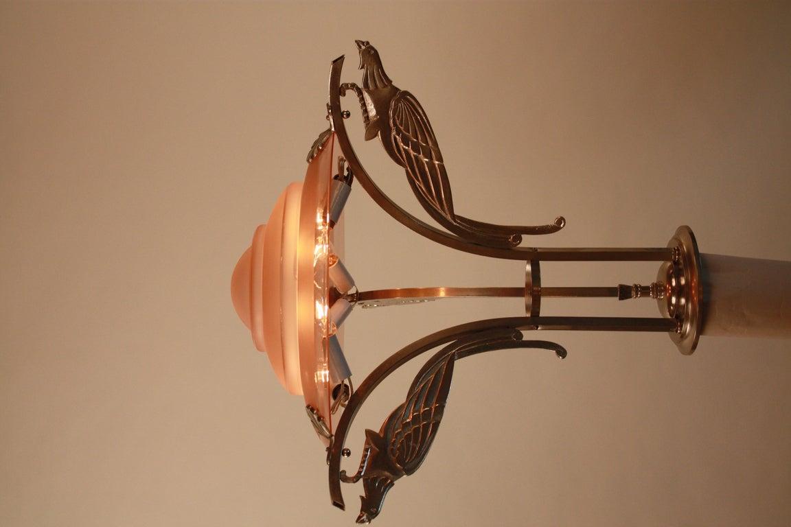 Art Deco Ceiling Pendant At 1stdibs