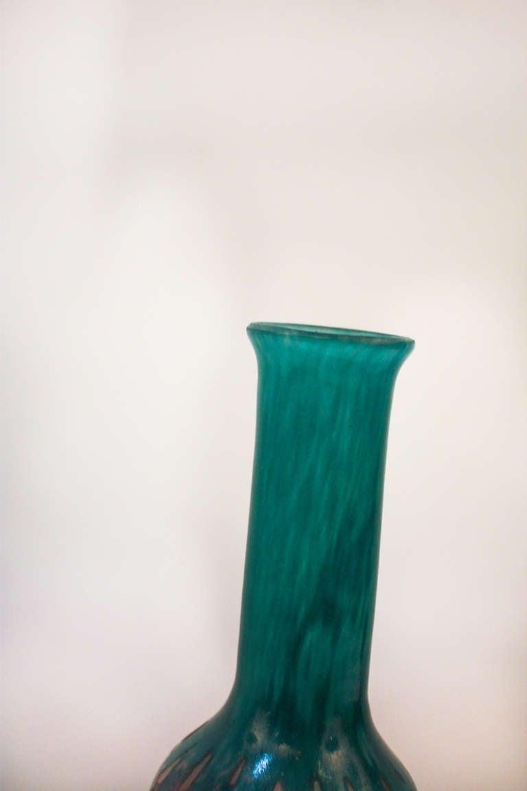 colorful art deco vase at 1stdibs. Black Bedroom Furniture Sets. Home Design Ideas