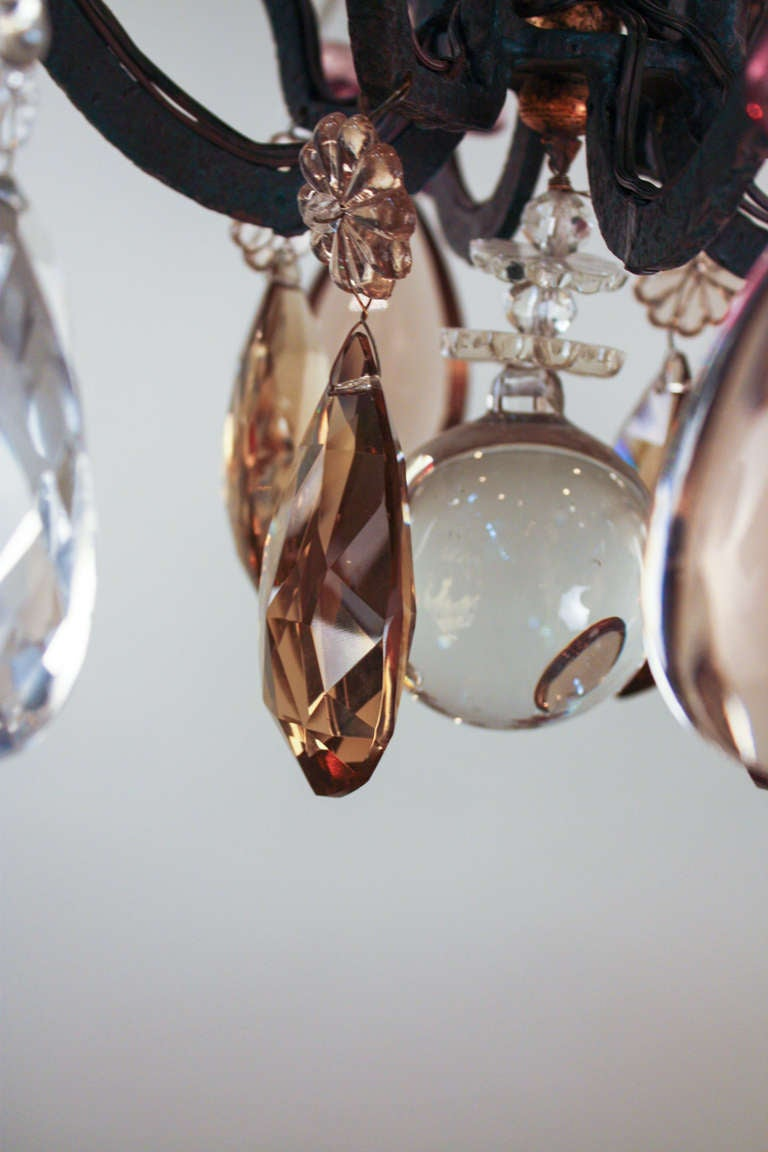 1930 S Crystal Chandelier At 1stdibs