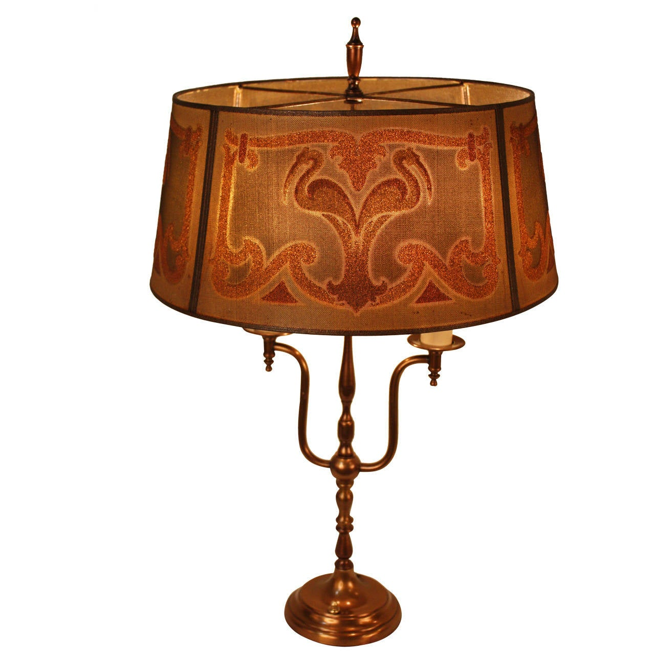 Art Deco Table Lamp By Mutual Sunset Lamp Company At 1stdibs
