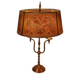 Art Deco Table Lamp by Mutual Sunset Lamp Company
