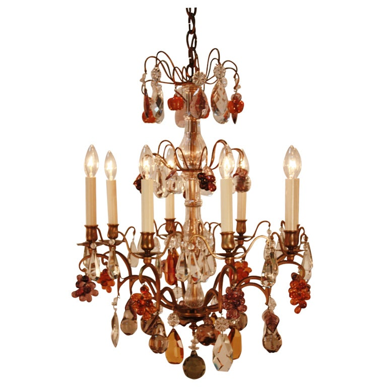 colorful chandelier at 1stdibs