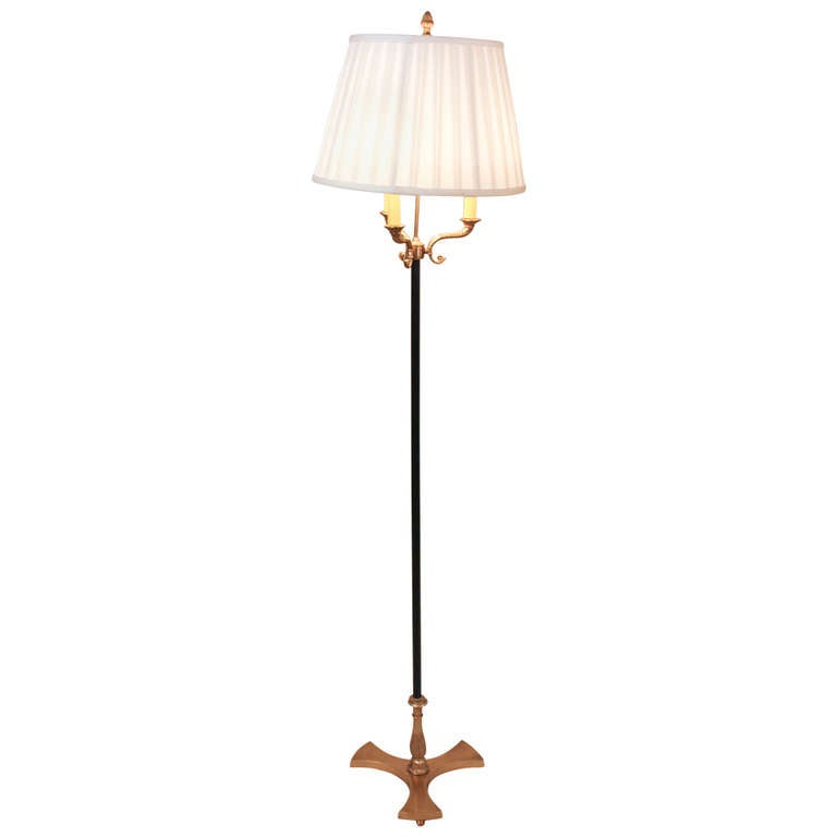 1930 39 s empire floor lamp at 1stdibs for 1930s floor lamp