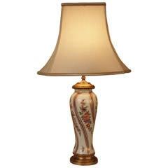 Table Lamp by Porcelaine de Paris